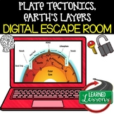 Plate Tectonics Digital Escape Room, Plate Tectonics Break