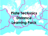 Plate Tectonics Distance Learning Pack