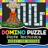 Plate Tectonics Domino Game - Great for a Review Activity