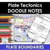 Plate Tectonics Doodle Notes + PowerPoint Slides