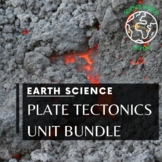Plate Tectonics: Earth Science Complete Curriculum Interactive Notebook