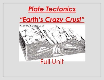 Plate Tectonics / Earth's Crust / Full Unit Smartboard and Powerpoint Notes