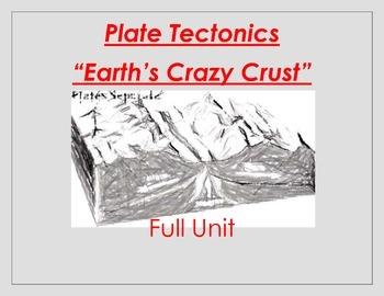 Plate Tectonics / Earth's Crust / Full Unit Smartboard and