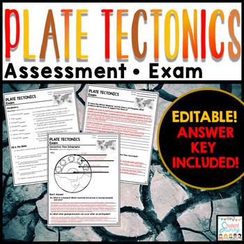 Plate Tectonics Exam - Assessment