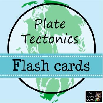 Plate Tectonics Flash Cards