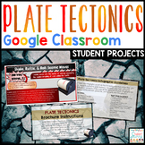 Plate Tectonics Projects Google Classroom Timeline Poster