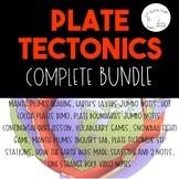 Plate Tectonics Growing Bundle!