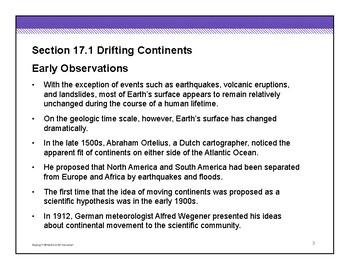 Plate Tectonics - HS Earth Science - Whole Unit