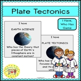 Plate Tectonics I Have, Who Has Game