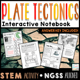 Plate Tectonics Worksheets Interactive Notebook Plate Tect
