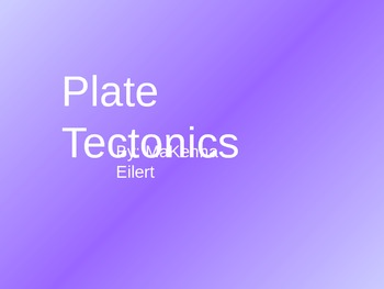 Plate Tectonics Jeopardy Game