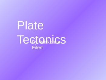 Plate Tectonics Jeopardy Game