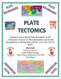 Plate Tectonics LAB:  Yummy!  Eat Your Boundaries (Graham