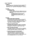 Plate Tectonics Lesson Plan 1