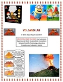 Plate Tectonics:  Make Your Own VOLCANO LAB! (Extended Version; EASY TO DO; FUN)