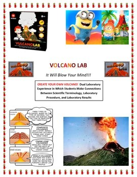 Plate Tectonics:  Make Your Own VOLCANO LAB! (Extended Ver