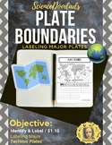 Labeling - Major Plate Boundaries
