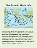 Plate Tectonics Map Activity