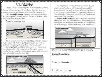 Plate Tectonics Mini-Unit