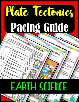 Plate Tectonics Pacing Guide- Earth Science Unit