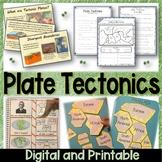 Plate Tectonics – Printables, Activities, Editable PowerPo
