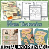 Plate Tectonics Pack – Printables, Interactive Notebook, E