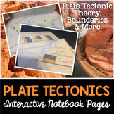 Plate Tectonics Interactive Notebook Pages