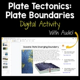 Plate Tectonics: Plate Boundaries DIGITAL ACTIVITY for Distance Learning