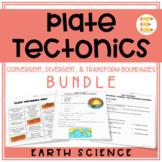 Plate Tectonics: Plate Boundaries Digital BUNDLE (3 in 1!)