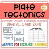Plate Tectonics: Plate Boundaries Digital Card Sort | Dist
