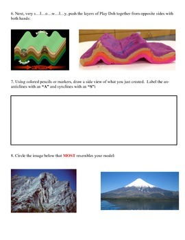 HANDS ON PLAY!  Plate Tectonics Play Doh LAB: Convergent (Collision) Boundaries