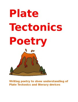 Plate Tectonics Poetry: Using literary devices and poetry for earth science