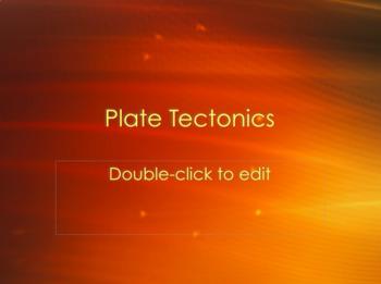 Plate Tectonics Power Point