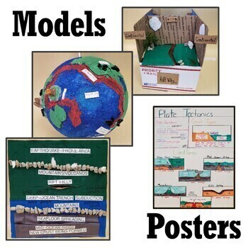 Plate Tectonics Project  MS ESS2-2 and MS ESS2-3