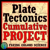Middle School Plate Tectonics Final Project Activity NGSS MS-ESS2-2 + MS-ESS2-3