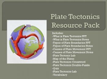 Plate Tectonics Resource Pack
