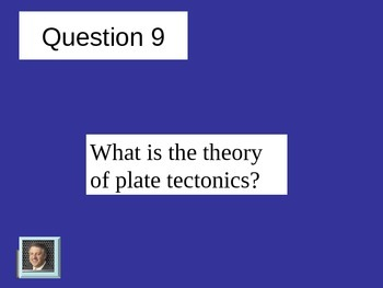 Plate Tectonics Review Jeopardy