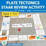 Plate Tectonics STAAR Review Activity Game