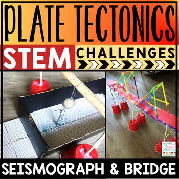 Plate Tectonics Project STEM Challenges