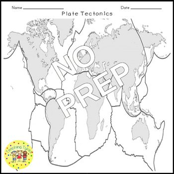 Plate Tectonics Crossword Puzzle