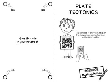 Plate Tectonics: Science Mystery Picture