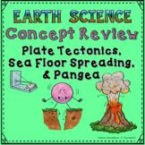 Plate Tectonics, Sea Floor Spreading, & Pangea Concept Review