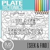 Plate Tectonics Seek and Find Science Doodle Page
