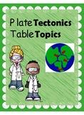 Plate Tectonics Activity