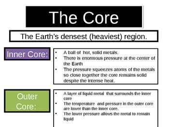 Plate Tectonics- The Layers of the Earth