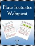 Plate Tectonics & Types of Plate Boundaries webquest W/ answer key