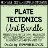 Plate Tectonics Unit Bundle