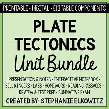 Plate Tectonics Unit Bundle