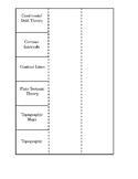 Plate Tectonics Vocabulary Fold