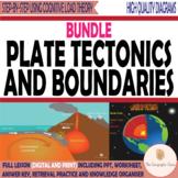 Plate Tectonics and Boundaries BUNDLE [Geography   Printable   Digital]